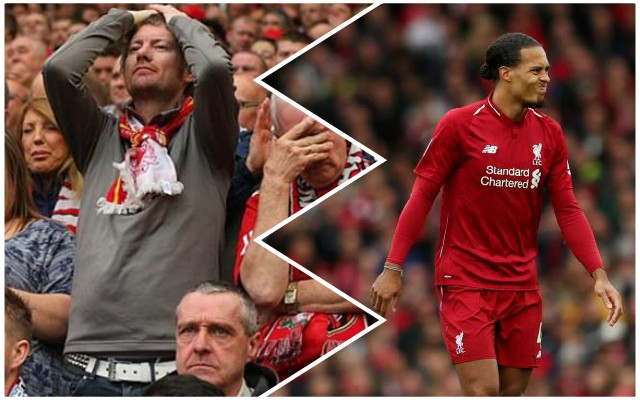"""We go again"", ""Time to focus on Sunday"": The best Twitter reactions as LFC lose late on"