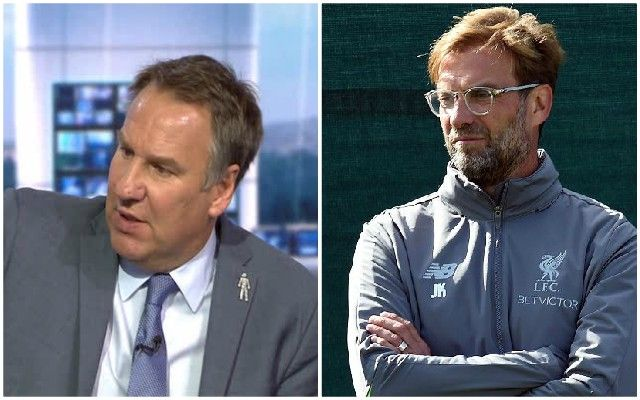 Paul Merson states prediction for Man Utd vs  Liverpool