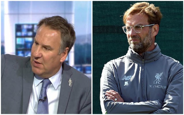 'This might sound silly' – Paul Merson states his prediction for Liverpool vs. Manchester City