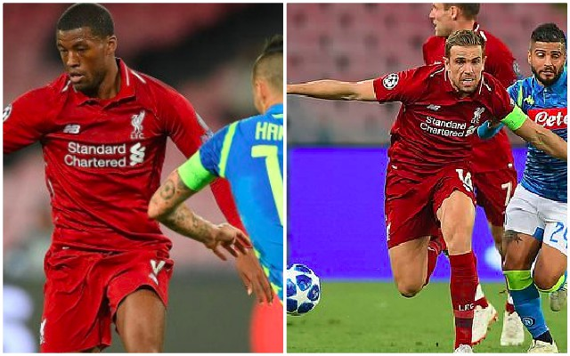 Worrying passing stat v Napoli hints at age-old Liverpool cliché