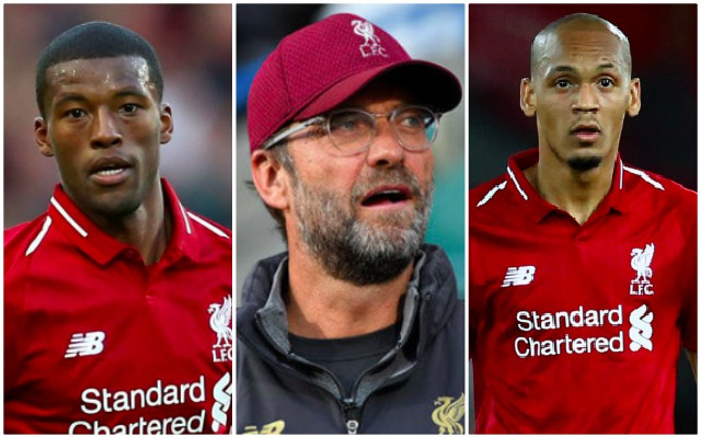 Klopp should pick this XI v Brighton to get LFC back on winning ways