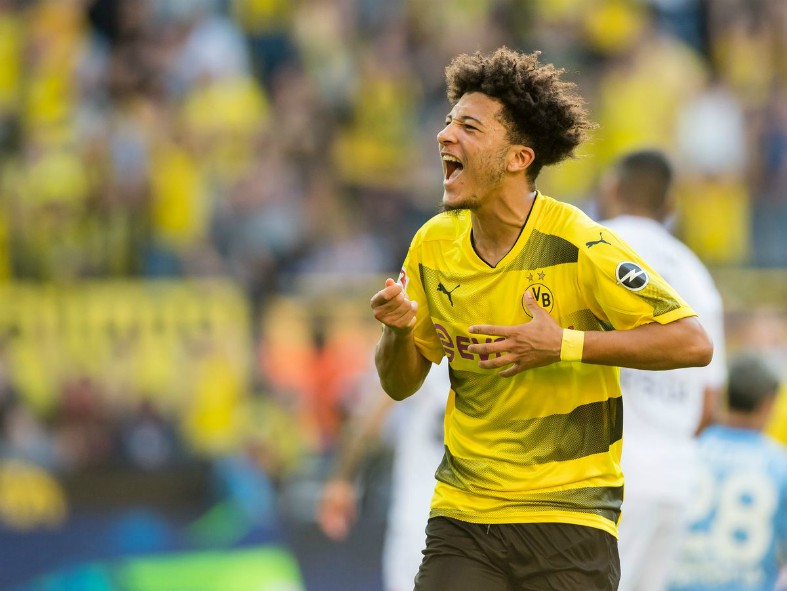 Man Utd confident of beating Liverpool to the signing of Jadon Sancho – report