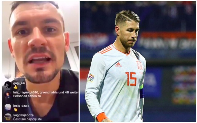 Lovren goes hard after Croatia win; calls Ramos a pussy & says he'll beat England too