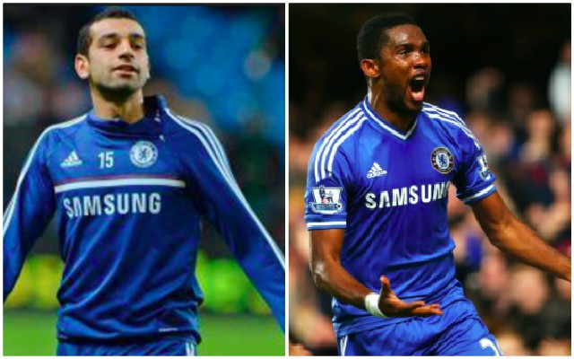 Eto'o explains convo with Salah in Chelsea dressing room that helped Mo