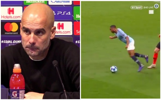Guardiola somehow uses James Milner to defend Sterling's poor sportsmanship