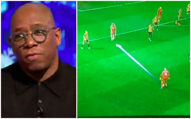 Ian Wright dissected Henderson's passing flaws on MOTD last night