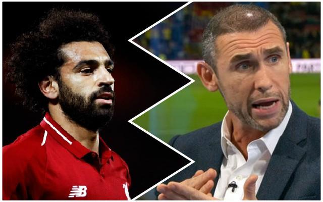 Watch: Martin Keown's bizarre criticism of Mo Salah's performance