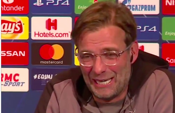 (Video) Klopp has room in stitches after 'erotic' translator surprises him