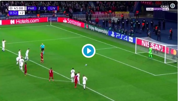 (Video) Milner scores a perfect penalty & sends Buffon wrong way