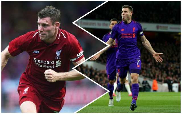 The remarkable statistic that James Milner extended against Arsenal
