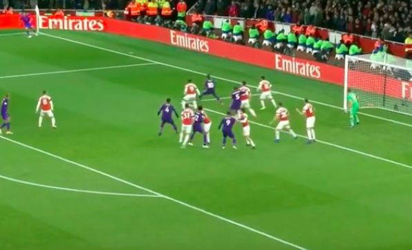(Video) Sit back and relive Virgil van Dijk's imperious display vs. Arsenal