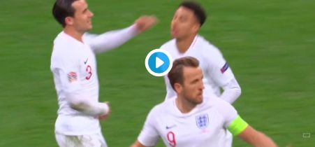 Huge Joe Gomez throw-in leads to England goal & fans are saying the same thing