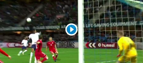 (Video) Solanke sends message to Klopp with classy brace for England's U21s