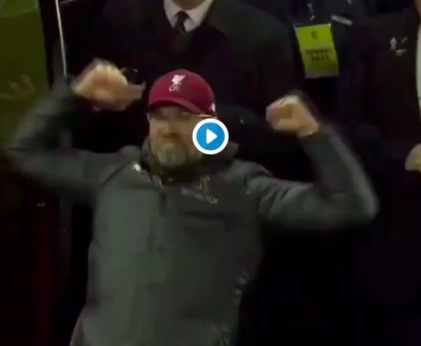 (Video) Klopp goes viral with superb goal celebration – can you lipread what he says?