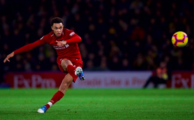 Trent's new chant Lyrics; Young fullback thanks fans who give song Anfield debut