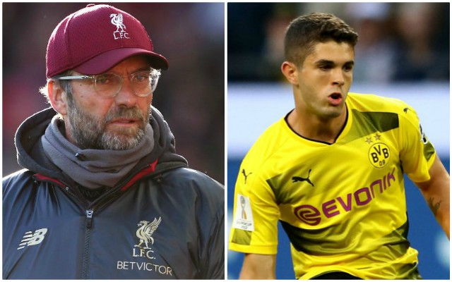 Christian Pulisic wants to join Liverpool over Chelsea – report