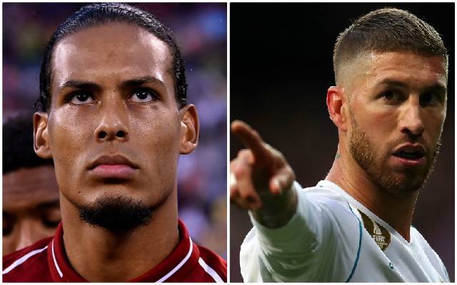 Van Dijk: why Sergio Ramos is not world's best defender