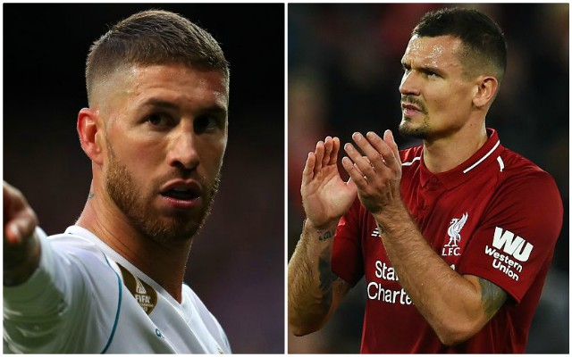 Manager seeks talks with Dejan Lovren over Sergio Ramos comments