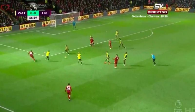(Video) Salah bags v Watford after Firmino & Mane combine wonderfully