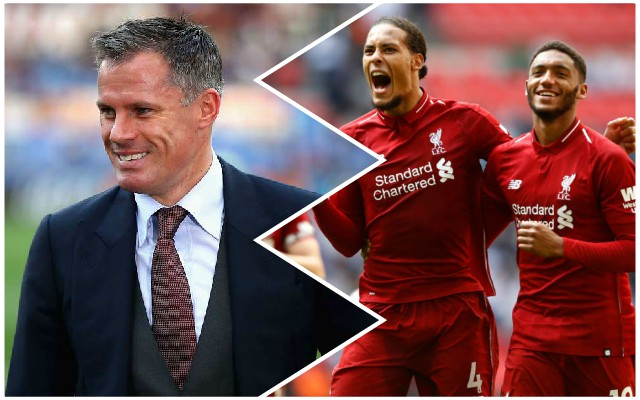 """Fantastic!"": Carra heaps praise on Reds defender"