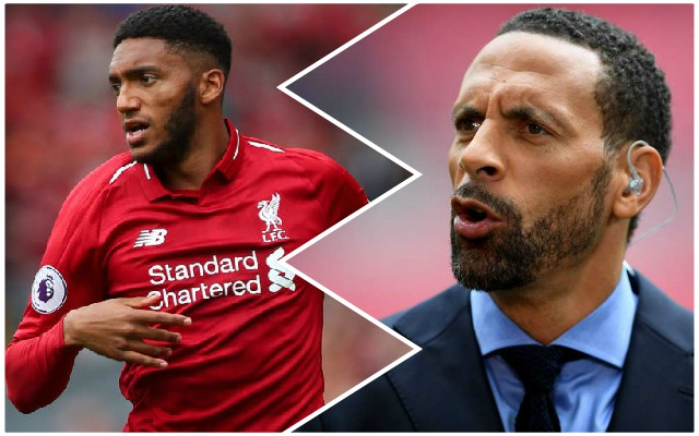 """Mouthwatering"": Rio Ferdinand gushes over Reds quartet"