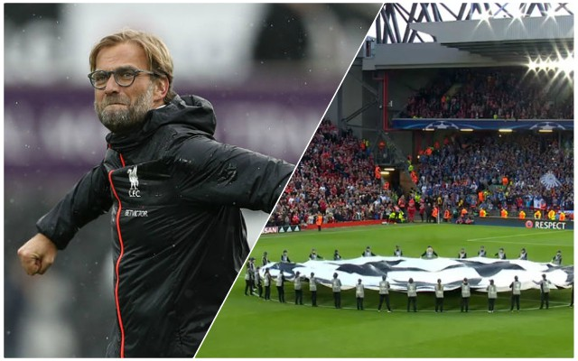 Jurgen Klopp's rallying call to Reds fans ahead of Napoli decider