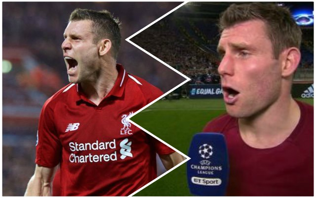 Milner's brutally honest post-match comments are spot on
