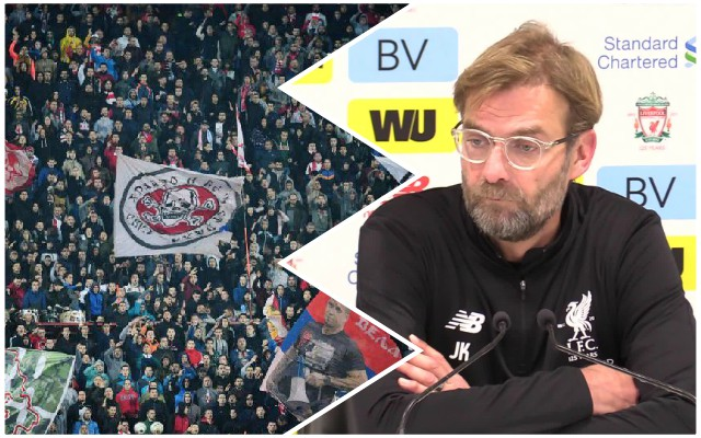 Klopp: Atmosphere not to blame for dismal showing