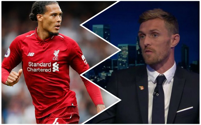 """He's a monster"": Darren Fletcher is the latest pundit to praise Reds defender"