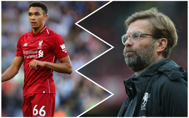 Klopp reveals how Alexander-Arnold has been a victim of his own dedication