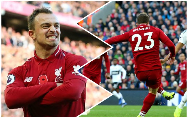 Shaqiri keen to maintain excellent start to Reds career