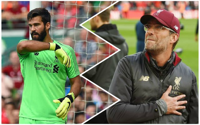 Klopp praises Alisson as he weighs in on offside debate
