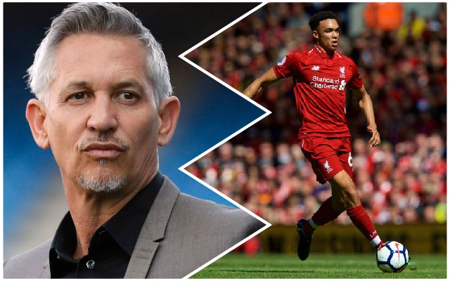 Lineker highlights attribute Trent Alexander-Arnold excels with