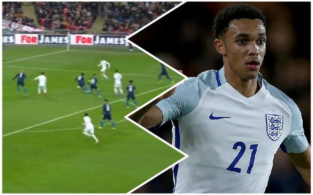 Watch: Trent scores his first England goal in spectacular style