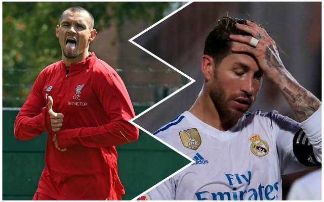 Dejan Lovren involved in dramatic game against Sergio Ramos' Spain