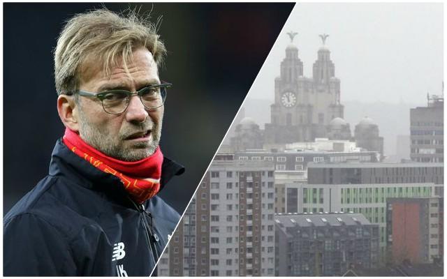 Liverpool man wants transfer so kids can escape the rain