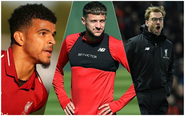 Jurgen Klopp issues rallying call to Lallana, Solanke and co.