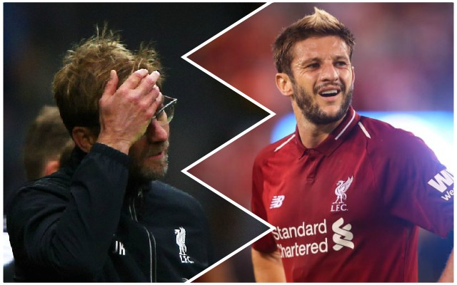 'How many times?!', 'Again?': Reds fans fume at latest Lallana setback
