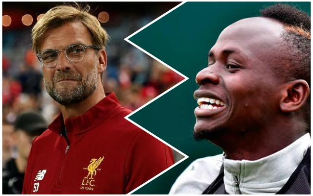 Klopp names Mane's only fault following mega contract extension – but it's really a compliment