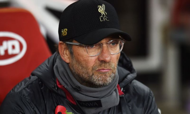Jurgen Klopp isn't interested in Manchester City's results