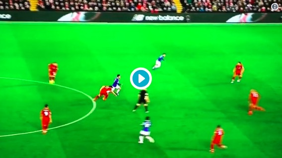 (Video) Alisson produces miracle save v Everton