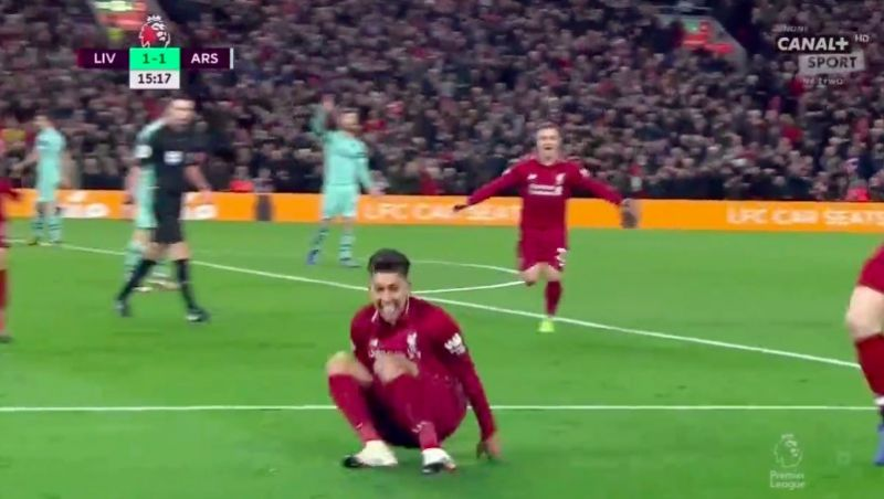 (Video) Firmino bags no-look goal then genuine Worldy 90 seconds later