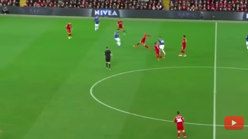 (Video) Fabinho's aggressive Merseyside Derby outing proves he must start every week