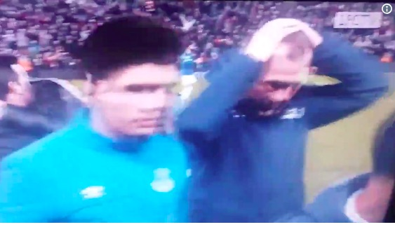 (Video) New Angle shows miserable Duncan Ferguson after Everton's loss