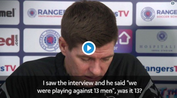 (Video) Gerrard 'takes no sh*t' off reporter again & Liverpool fans love it