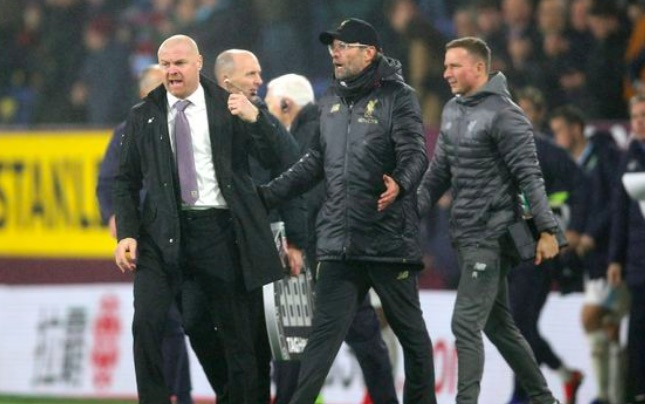 Pundit defends Dyche: He was right to have a go at Klopp