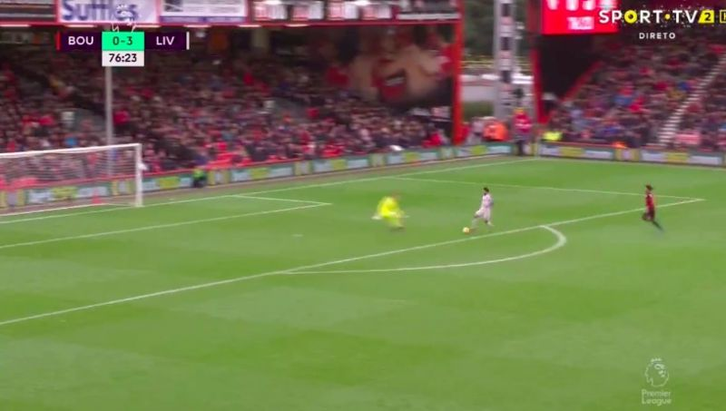 (Video) Salah is incredible: Mo bags hat-trick with beautiful effort that makes Begovic look stupid