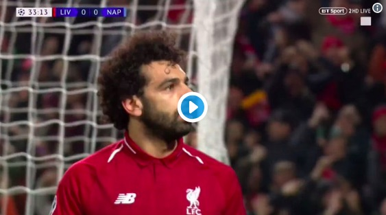 (Video) Salah skins Koulibaly, bags & celebrates like an absolute boss