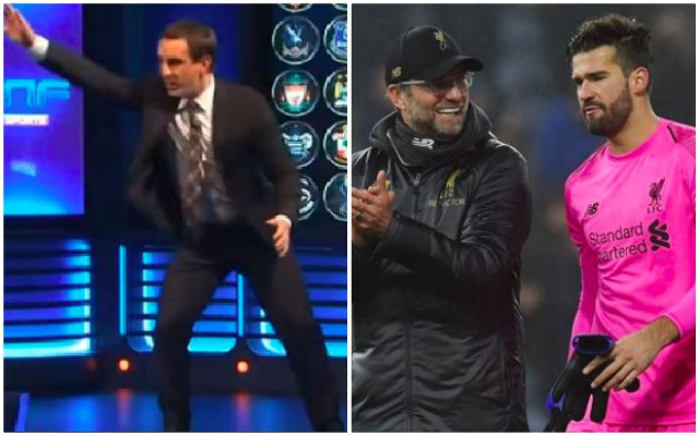 Gary Neville makes unspoken point about Alisson & Gerrard's Slip…