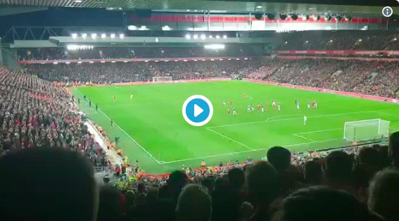 (Video) Fan footage shows Van Dijk did turn around to enjoy Origi's winner